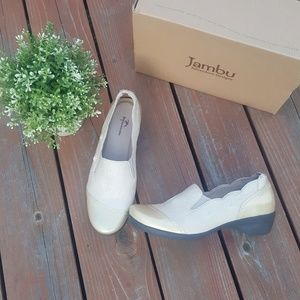 New Comfortable Leather Jambu Flats